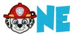 Paw Patrol ONE embroidery design