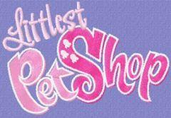 Littlest Pet Shop Logo embroidery design