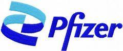 Pfizer logo embroidery design