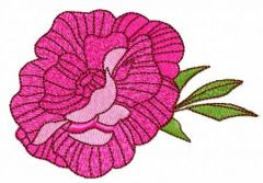 Rose 18 embroidery design