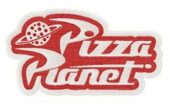 Pizza Planet logo embroidery design