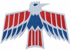 Pontiac Firebird Logo embroidery design