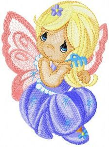 Little Fairy 2 embroidery design