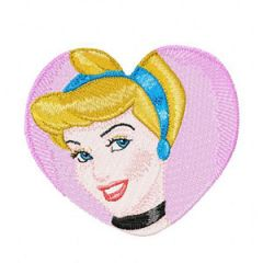 Cinderella 3 embroidery design