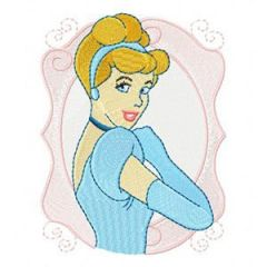 Cinderella 4 embroidery design