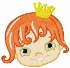 Princess 3 embroidery design