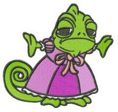 Princess Pascal embroidery design