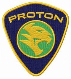 PROTON Holdings Berhad logo embroidery design