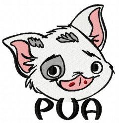 Pua machine embroidery design 2