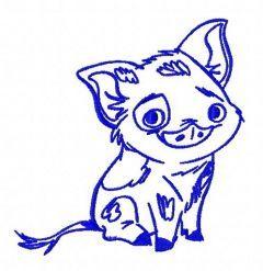 Pua 3 embroidery design