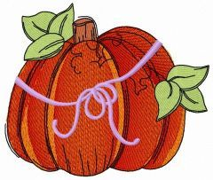 Pumpkin 2 embroidery design