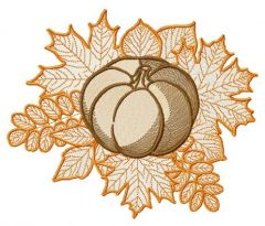 Pumpkin 4 embroidery design