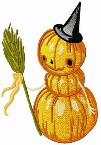 Pumpkin scarecrow 2 embroidery design