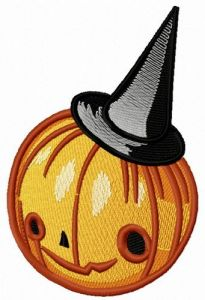 Pumpkin scarecrow 4 embroidery design