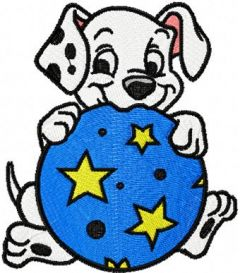 Puppies 4 embroidery design