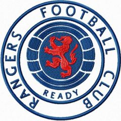 Rangers Football Club embroidery design