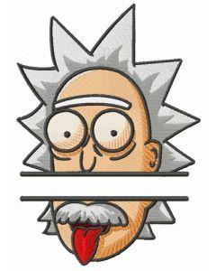 Rick Einstein monogram embroidery design