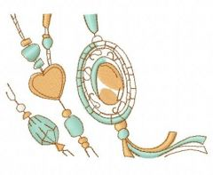 Romantic composition 5 embroidery design