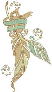 Romantic composition 6 embroidery design