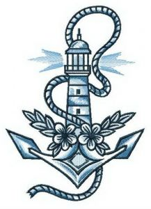 Sailor's dreams embroidery design