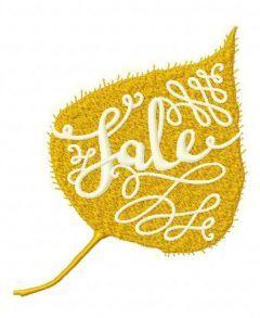 Sale embroidery design