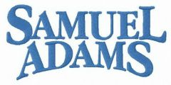 Samuel Adams alternative logo embroidery design