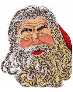 Santa time embroidery design
