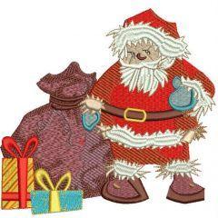 Santa's presents 3 embroidery design