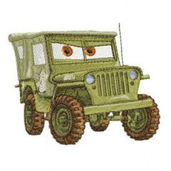 Sarge embroidery design