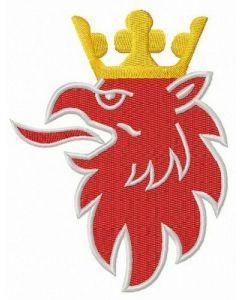 Scania logo 2 embroidery design