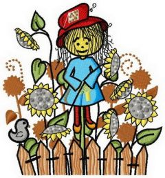 Scarecrow 2 embroidery design