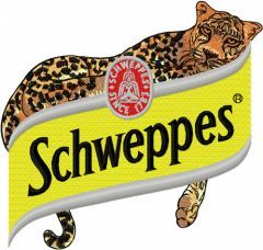 Schweppes Logo embroidery design