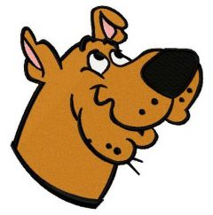 Scooby Doo 4 embroidery design