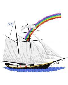 Sea ship 2 embroidery design