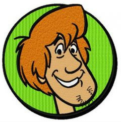 Shaggy Rogers embroidery design
