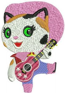 Sheriff Callie embroidery design