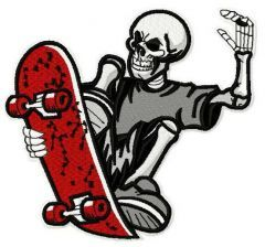 Skateboards Supply Co. machine embroidery design 5