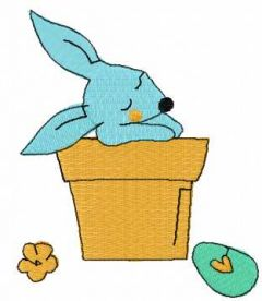 Small Easter bunny 2 embroidery design