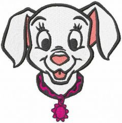 Smiling Patch embroidery design