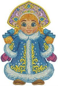 Snegurka embroidery design