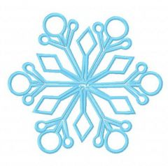 Snowflake 15 embroidery design