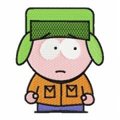 South park 1 embroidery design