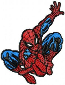 Spider-Man Rescues embroidery design