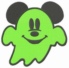 Spooky Mickey 2 embroidery design