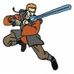 Jedi 1 embroidery design