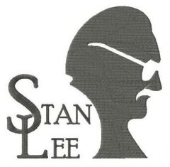 Stan Lee embroidery design