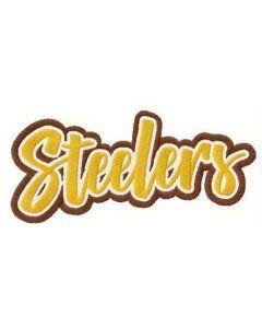 Steelers alternative logo embroidery design