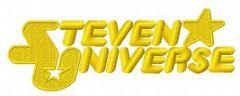 Steven Universe logo embroidery design