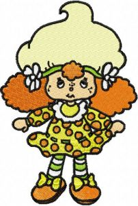 Strawberry Shortcake 2 embroidery design