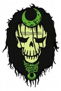 Suicide Squad Enchantress 2 embroidery design
